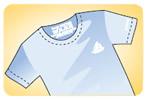 Etiketsiz Baskı T-Shirt